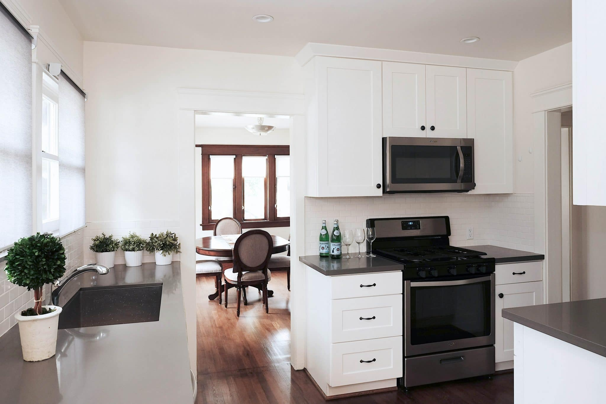 White shaker rta kitchen cabinets beautiful remodeled kitchen