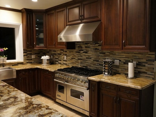 American Walnut Sample Kitchen