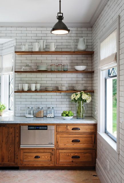 Upper Kitchen Cabinets Or Open Shelves For Your