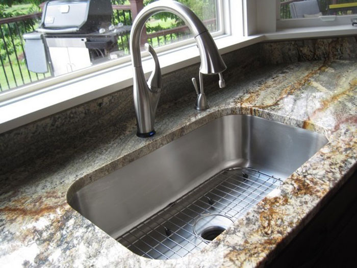 The Lip And Basin Of The Under Mount Sinks Attach To The Bottom Of The  Counter (as Seen Above) While The Basin Of The Drop In Sink Hangs Down  Through The ...