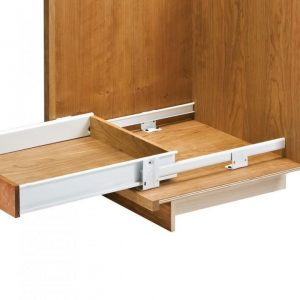 kitchen cabinet drawer slides. Most kitchen cabinets that use metal drawers have at least 2 sides on  each drawer where the slides attach and function within The Kitchen Cabinet Drawer Discussion Best Online Cabinets