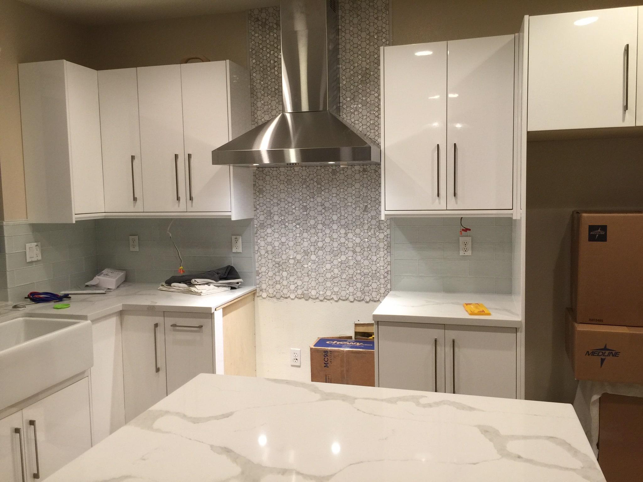 Best Online Cabinets White Gloss Kitchen 1
