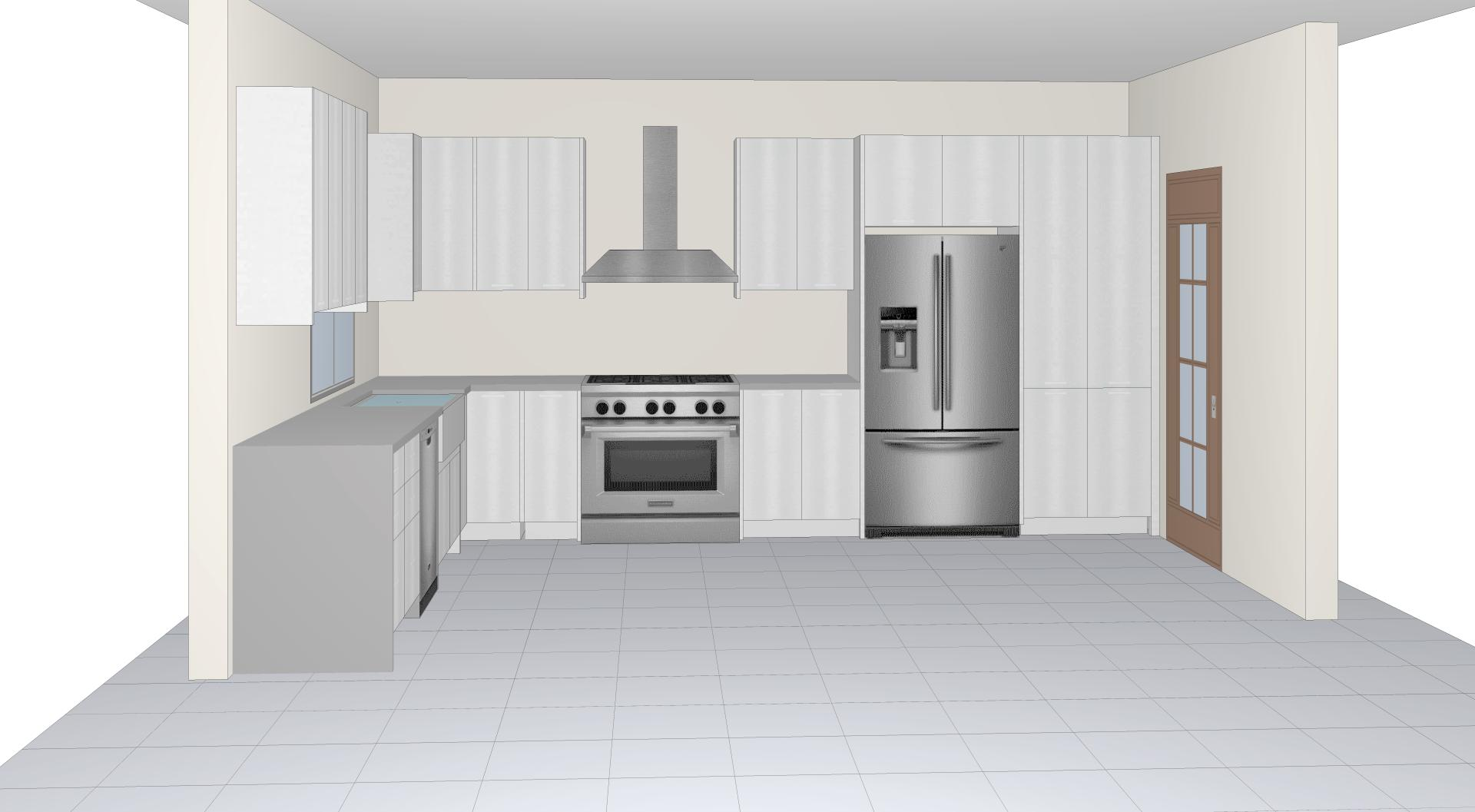 How To Design The Dream Kitchen White Gloss Euro Cabinets