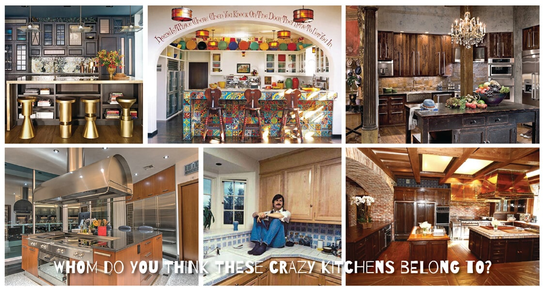 Top 5 Crazy Celebrity Kitchens You Won\'t Believe - Best Online Cabinets