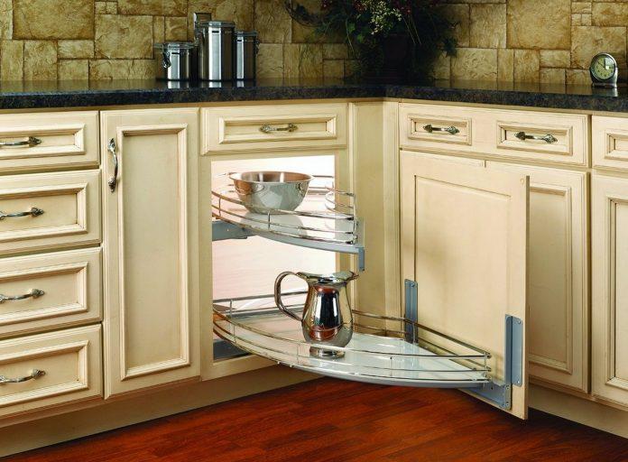 Corner Kitchen Cabinet Technology Saving Space