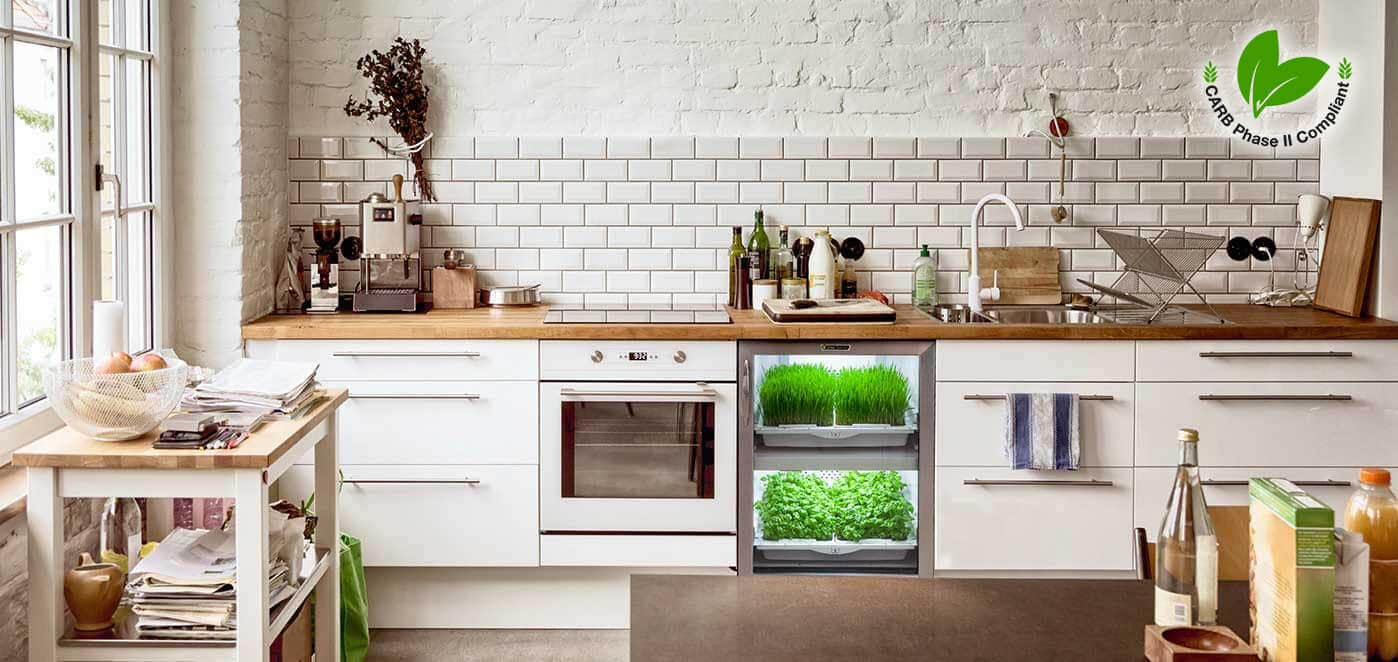Green Kitchen Cabinets: Nearly Formaldehyde Free Plywood - Best ...