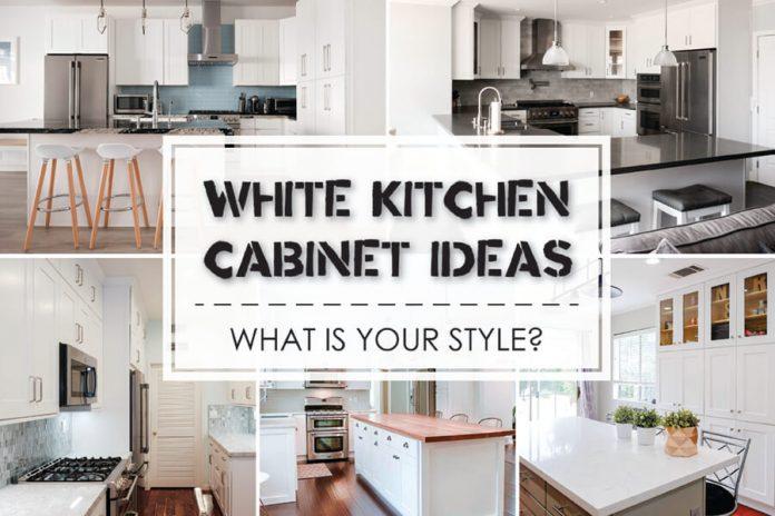 White Kitchen Cabinet Countertop Ideas best white kitchen cabinet ideas - best online cabinets