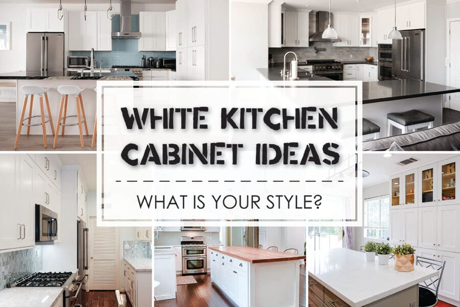 Best White Kitchen Cabinet Ideas