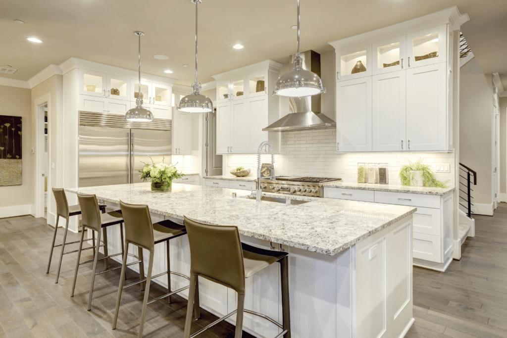 White Kitchen Cabinets Improve Home Value