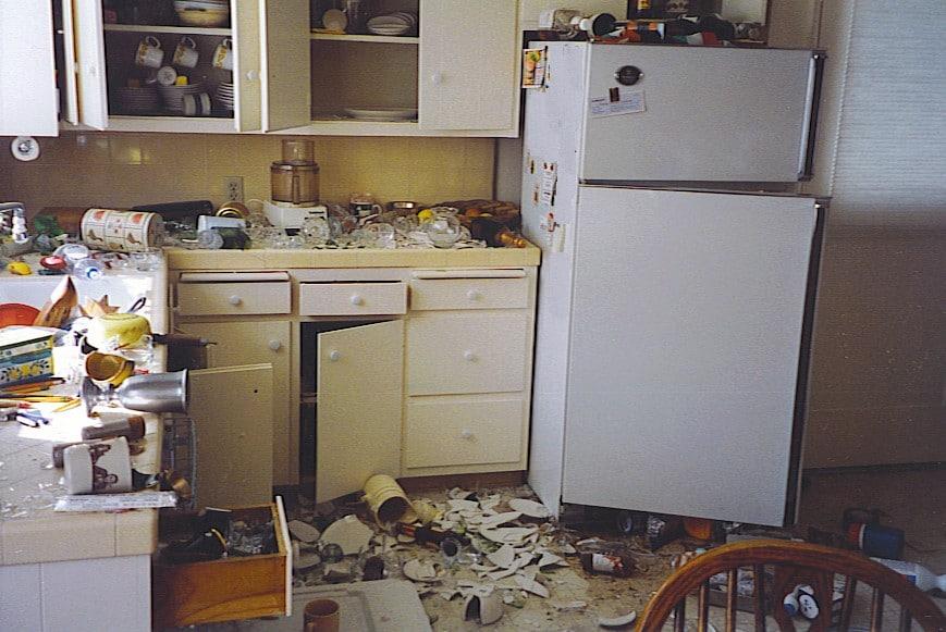 kitchen cabinet hazards