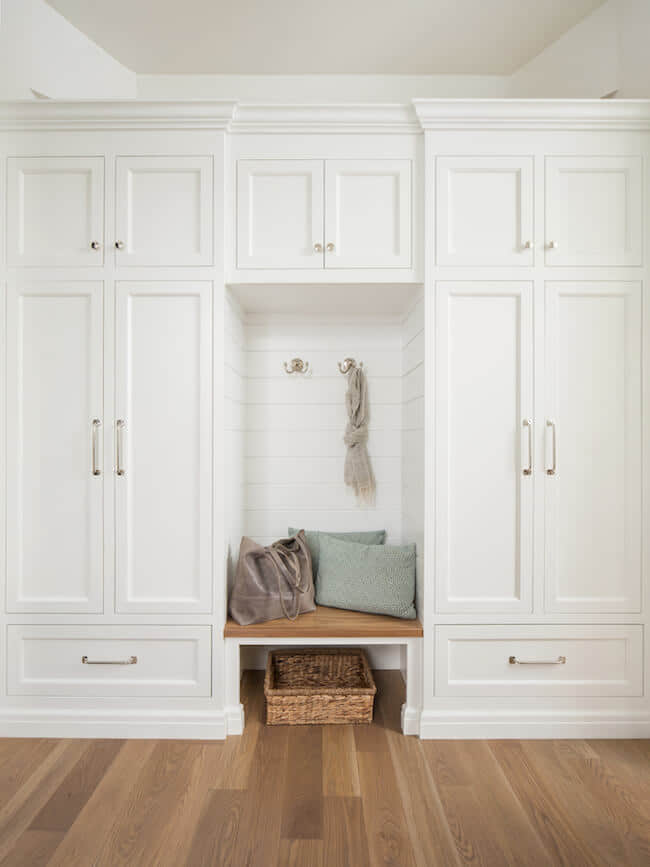 Design Ideas - Mudroom with Coat Rack