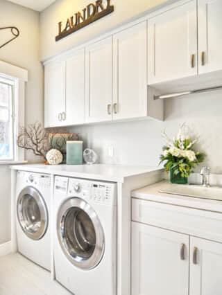 Design Ideas - Small Laundry and Sink Comb