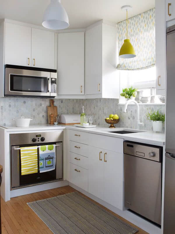 Design Idea - Studio Kitchen - L-Shaped