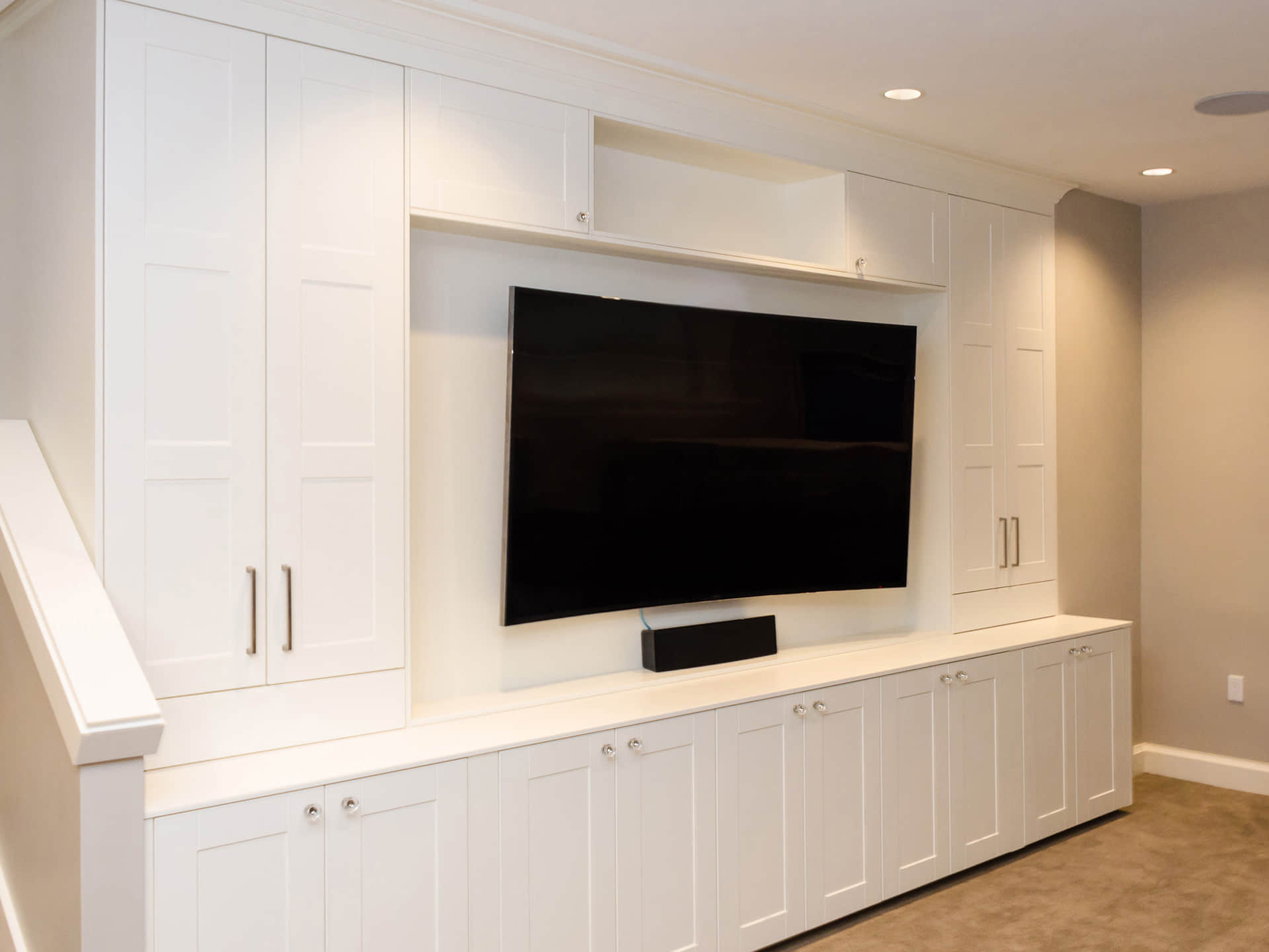 Design Idea - Living Room Entertainment Center